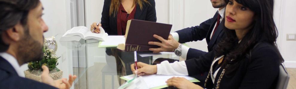 Il team dello studio legale Pierro