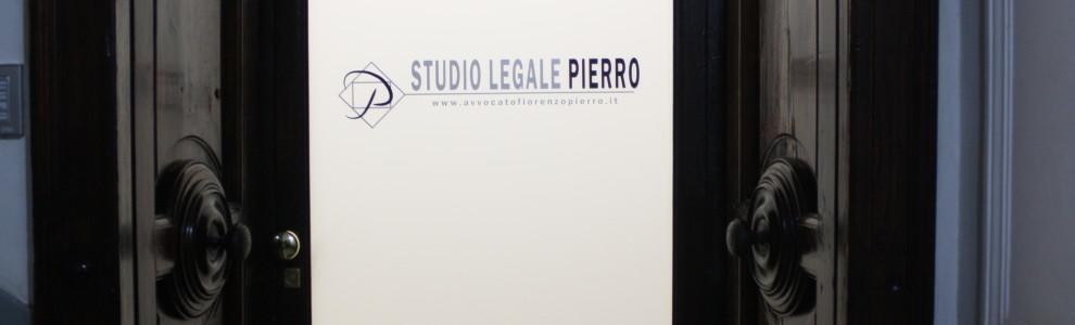Lo Studio dell'avv.Fiorenzo Pierro